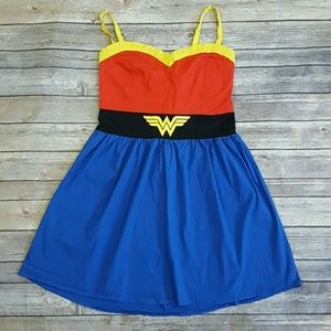 DC Comics Wonder Woman Youth 14 Summer Dress